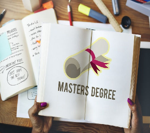 Picture depicting Master's Degree study